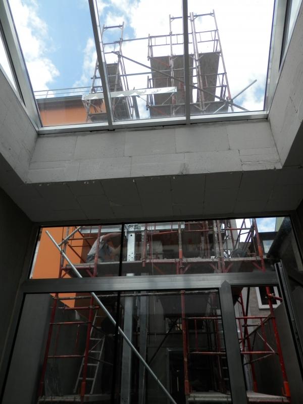 Světlíky,výtahové šachty